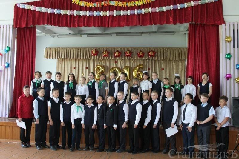 Встреча с родителями и детьми создаваемого казачьего кадетского класса