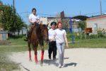 Посажение на коня в Пригородном
