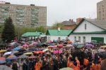 Пасхальная служба в Оренбурге