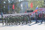 В Кыштыме казаки и казачата приняли участие в параде в честь Дня Победы