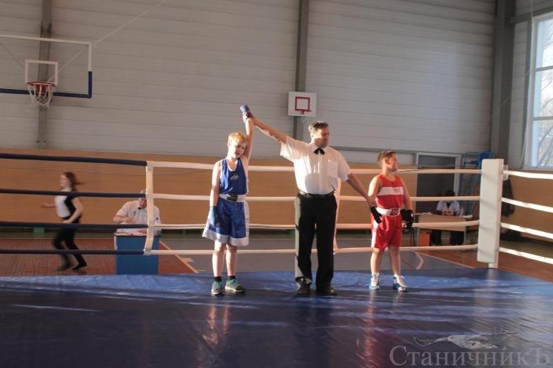 Турнир по боксу памяти В.И.Перевощикова