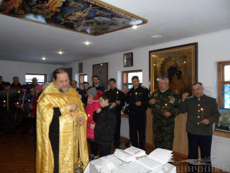 Орские казаки почтили память жертв геноцида казачьего народа
