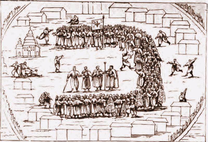 Подлинная древность и псевдотрадиции казачьего Круга: отделяем зёрна от плевел. Часть 2. Псевдотрадиции и неоказачьи мифы круга